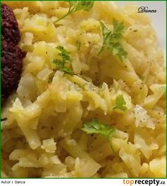 Czech Recipes, Ethnic Recipes, Gnocchi, Risotto, Potato Salad, Mashed Potatoes, Side Dishes, Food And Drink, Menu