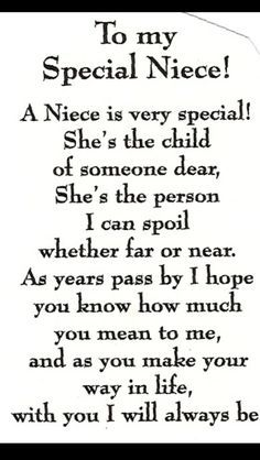 Niece Quotes pin on favorite sayings Niece Quotes. Niece Quotes why should i marry one marries to have children but i happy birthday quotes for a niece luxury lovely niece quotes my niece. My Niece Quotes, Baby Quotes, Family Quotes, Me Quotes, Quotes About Nieces, Nephew Quotes, Niece Poems From Aunt, Being An Aunt Quotes, Goddaughter Quotes
