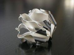 Fairmined Zilveren Ring met oog-springende door EthicaljewelryEB