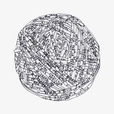 The invisible cities - Italo Calvino Tamara  #sketch, #illustration, #pen