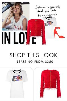 """""""in love"""" by jofrebcn ❤ liked on Polyvore featuring Yves Saint Laurent and Givenchy"""