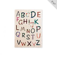 ABC Rug... great for kids room/playroom