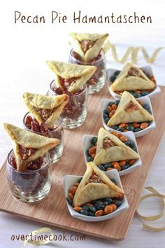 pecan pie hamantaschen on OvertimeCook.Com