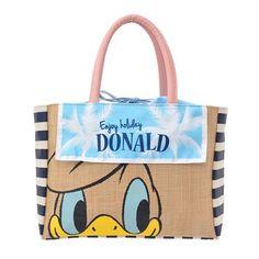 Donald Duck Resort Weekend Tote Bag