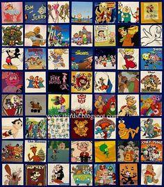 80's cartoon nostalgia