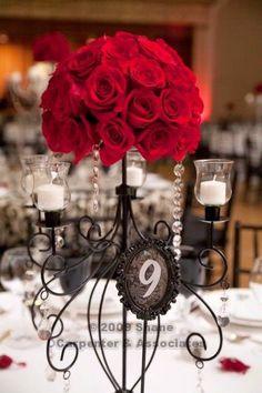 Elegent wedding centerpieces - Candelabra Garland | Weddinary.com Keywords: #weddings #jevelweddingplanning Follow Us: www.jevelweddingplanning.com  www.facebook.com/jevelweddingplanning/