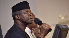 timelynews247: Just In: Osinbajo in closed-door meeting with Nige...