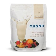 Manna 360 Shake (Bag)  Manna 360 with 77 natural ingredients, including protein, fiber, vitamins, minerals, fruits, vegetables, antioxidants, superfoods, adaptogens, prebiotics, probiotics, digestive enzymes and more… And just as important as what IS in Manna 360 - What IS NOT in Manna 360. No artificial ingredients, no aspartame, no sucralose, no fructose, no added sugar, no preservatives, no GMOs, no antibiotics, no chemicals, no fillers, no gluten and no yeast.