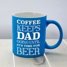 Check this out!! The Kitchen Gift Company have some great deals on Kitchen Gadgets & Gifts Personalised Coffee Mug for Dad #kitchengiftco