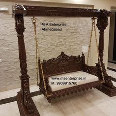 MA Enterprise is one of the supreme brand of Indian Swing Sankheda Wooden Furniture in Australia, USA, India Modern Hanging Chairs, Furniture Styles, Furniture Ideas, Modern Furniture, Furniture Design, Indian Swing, Living Room Decor Elegant, Home Swing, Supreme Brand