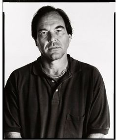 Oliver Stone - New York - 1994 © Richard Avedon