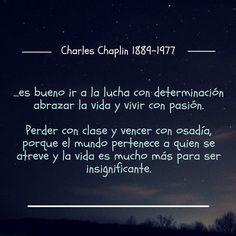 Charles Chaplin, 1889-1977 #bibliotecaugr #CitasCelebres #Chaplin
