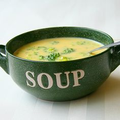 Broccoli Chowder with Corn and Bacon | Soups and Stews to Warm the ...