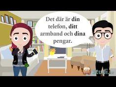 Possessiva pronomen, del 2 - reflexiva pronomen (Svenska) - Studi.se - YouTube Learn Swedish, Swedish Language, Work Hard, Travel Books, Teaching, Foreign Languages, Words, School, Europe