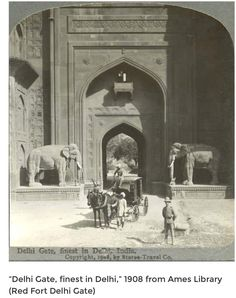 Ancient History India - India, Delhi gate c 1900 Colorful Pictures, Old Pictures, Old Photos, Colonial India, British Colonial, Om Namah Shivaya, Jaisalmer, Udaipur, History Of India