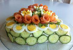 Sandwiches, Sandwich Cake, Norwegian Food, Norwegian Recipes, Avocado Egg, Afternoon Tea, Food Art, Cobb Salad, Tapas