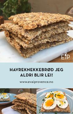 Simply the best! Bakery Recipes, Baby Food Recipes, Low Carb Recipes, Snack Recipes, Cooking Recipes, Healthy Fast Food Options, Fast Healthy Meals, Norwegian Food, Scandinavian Food