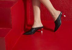 Minna Parikka Jacklyn black-red Occult, My Style, Heels, Red, Black, Women, Fashion, Moda, Black People