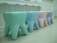 Tooth Toy stools