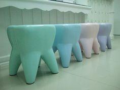 Tooth Teeth Toy stool Repinned by www.greenbrierdental.com