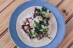 pulled pork tacos / Hannan soppa