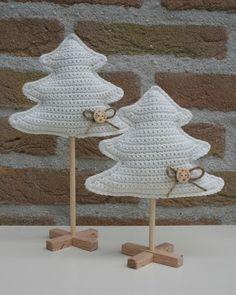 Christmas trees, Arbol de Navidad con Tutorial ❥Teresa Restegui http://www.pinterest.com/teretegui/❥