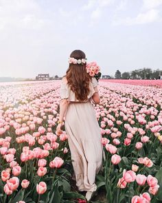Likes, 159 Comments - Jana Beautiful Flowers, Beautiful Pictures, Germany Fashion, Tulip Fields, Shooting Photo, Flower Aesthetic, Girl Photography, Belle Photo, Marie