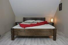 Łóżko drewniane, sosnowe 140x200 Monza / MEBLE MIGDAŁ™ / http://www.meblemigdal.pl/lozka-drewniane-140x200