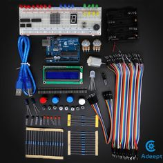 Arduino UNO R3 Starter Kit Starter to Ultimate Arduino Compatible, LCD1602  #ArduinoCompatible