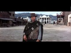 Get three coffins ready - A Fistful of Dollars 1964 (full scene) - YouTube