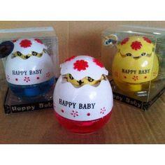 Parfum Mobil Happy Baby harga : 65.000 *harga belum termasuk ongkir jne  Parfum Mobil Happy Babyini berbentuk telur. Sangat unik untuk interior mobil kesayangan anda