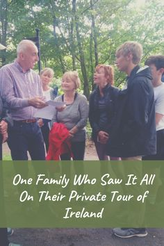 VagaGuide John tells the story of the Davidson clan's epic private tour to Ireland.
