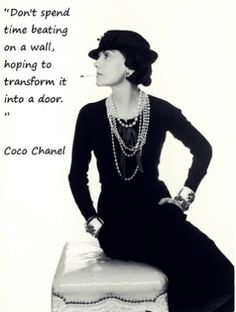 Coco Chanel Quotes ~ Love-sepphoras by Белла Донна