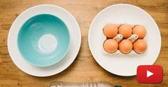 You've Been Separating Egg Yolks From Whites Wrong This Entire Time. SO Cool!