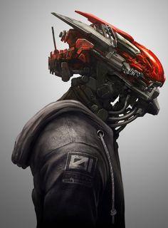 Rocking the fall hoodie by Kory Cromie | Robotic/Cyborg | 2D | CGSociety