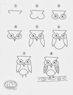 Kolay Hayvan Çizimleri
