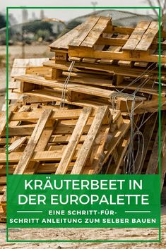 There is nothing better than a good DIY project. These DIY pallet projects will be the perfect addition to any home. Check them out! Free Pallets, Wood Pallets, Where To Find Pallets, Pallet Building, Building Furniture, Diy Home Decor On A Budget, Diy Pallet Projects, Kraut, Farmhouse Decor