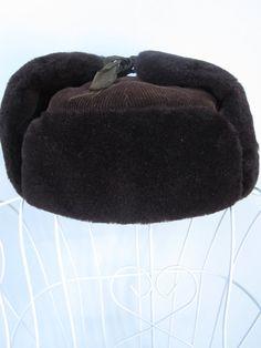 fccba305 Chinese Hat - Trapper Hat - Faux Fur Hat - Lei Feng Hat - Ushanka Hat - Hat  With Ear Flaps - Elmer Fudd Hat - Mens Trapper Hat - Russian Hat