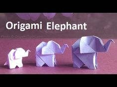 Origami Elephant:Amazing Paper Elephant Making Step-by-Step|Origami Elephant Craft Ideas - YouTube