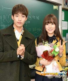 SVT's DK and GFRIEND's Yuju graduation
