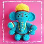 #handmadeisbetter #ganesha #hechoamano #handmade #mexicocreativo #yarn…