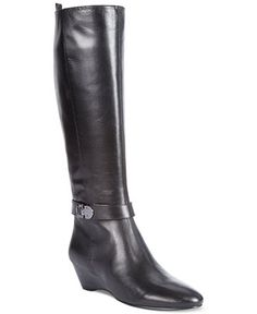 Bandolino Adanna Wedge Boots - Boots - Shoes - Macy's