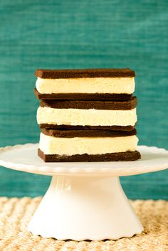 Old-Fashioned Ice Cream Sandwiches from @Michelle (Brown Eyed Baker)