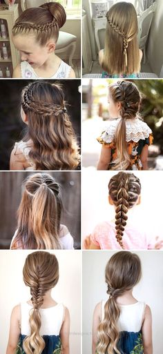 50 Cute Back To School Hairstyles For Little Girls…  http://www.hairdesigns.top/2017/07/16/50-cute-back-to-school-hairstyles-for-little-girls/