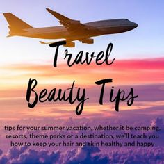 Travel Beauty Tips Beauty Tips, Beauty Hacks, Healthy Skin, Your Hair, Vacation, Blog, Travel, Vacations, Viajes