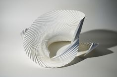 Untitled (curved pleat) by Richard Sweeney, via Flickr