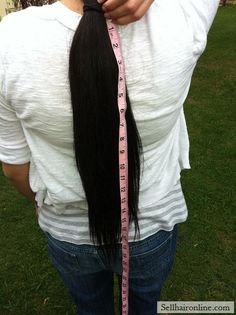Awesome Virgin Thick Straight Dark Brown/ Black Hair For Sale! Check more at http://sellhaironline.com/ads/virgin-thick-straight-dark-brown-black-hair-for-sale/