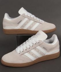 Adidas Busenitz Trainers in Grey/White