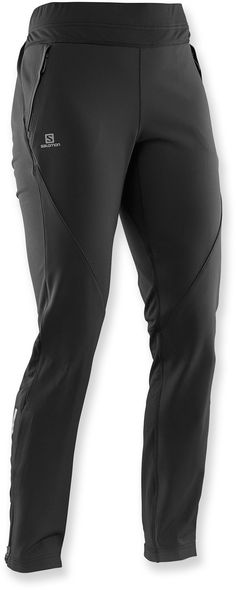Salomon Female Momemtum Soft-Shell Pants - Women's