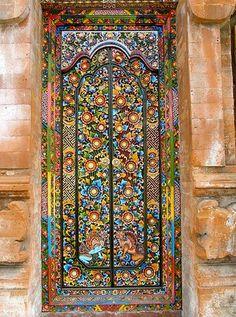 Beautiful door em Bali